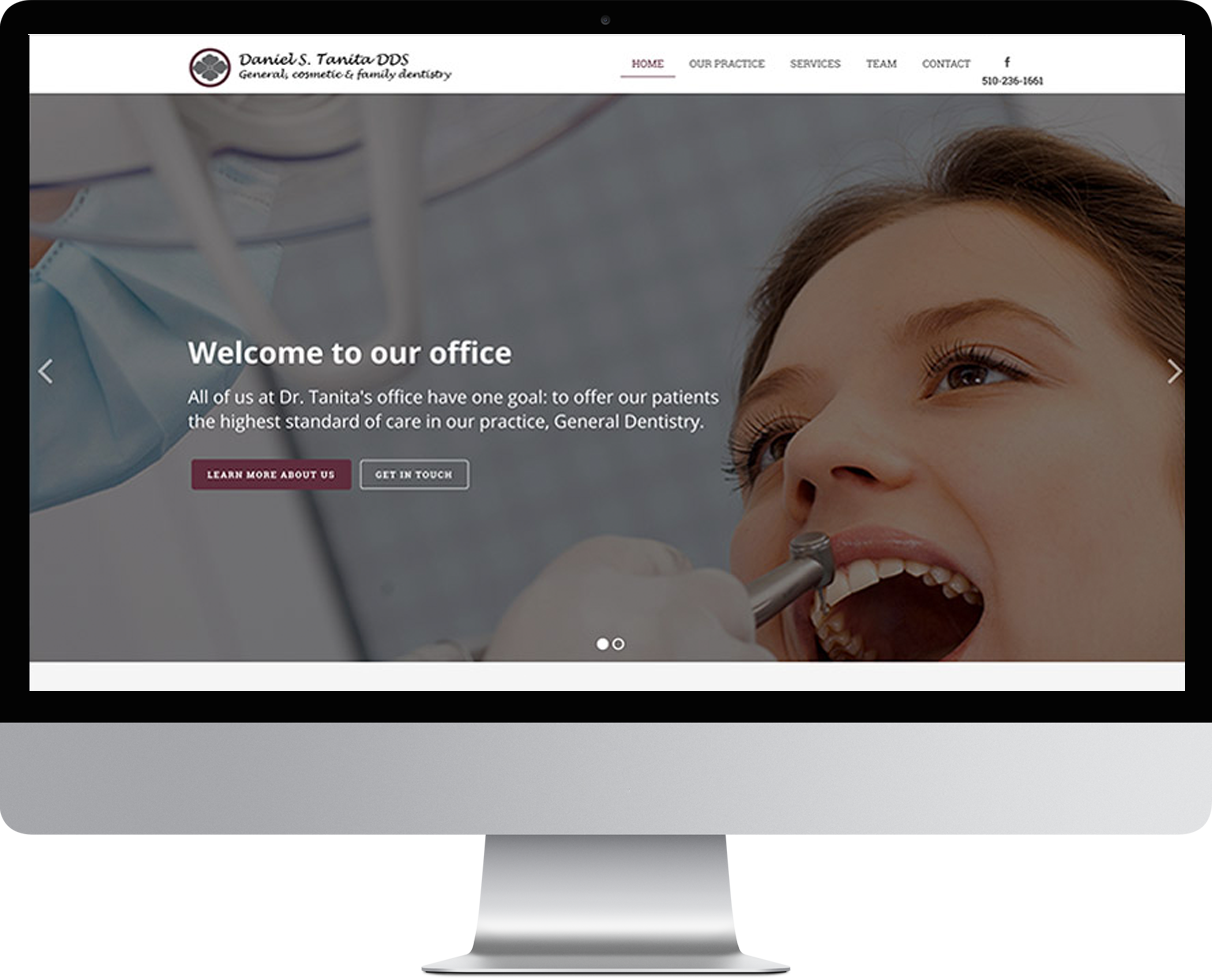 website design dental websites for dentists optometrists orthodontists doctors
